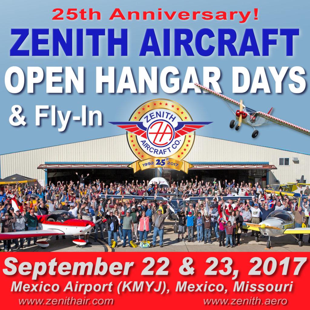 Zenith Open Hangar Days