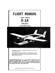 Cessna O-2A Flight Manual