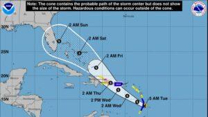Potential Hurricane